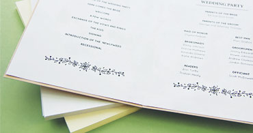 Program Insert Paper