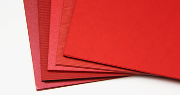 Red Blank Cards