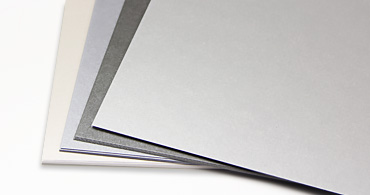 Silver Blank Cards