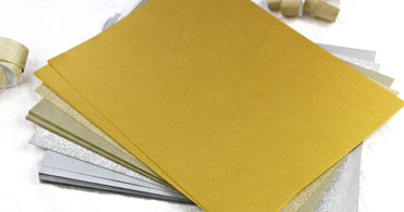 Silver & Gold Cardstock Paper