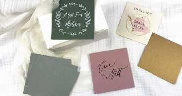Square Place Cards