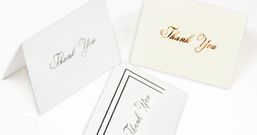Thank You Cards & Envelopes