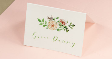 Printable Place Cards For Weddings Parties Lci Paper