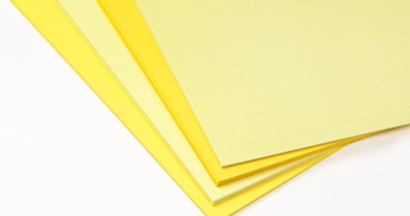 Yellow Blank Cards