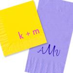 Monogram & Initial Napkins