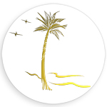 Palm Tree Envelope Seals