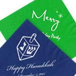 Custom Holiday Napkins