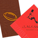 Custom Sports Napkins