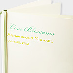 Printable Wedding Programs