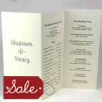 Program Paper Sale