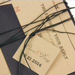 Rustic Tagged Invitation