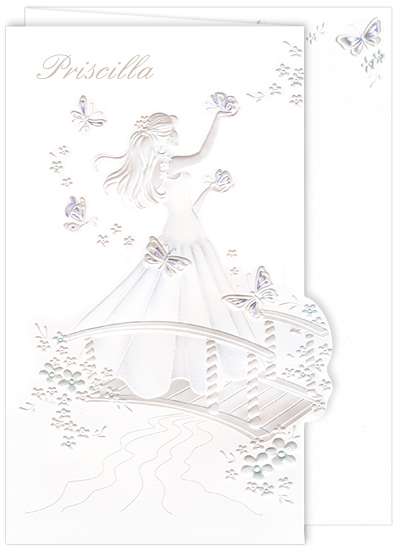 Quinceanera Invitation Blossoming Butterfly (50 Pack)