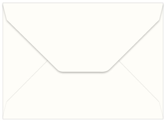 A7 Wedding White Smooth Invitation Envelopes (50 Pack)