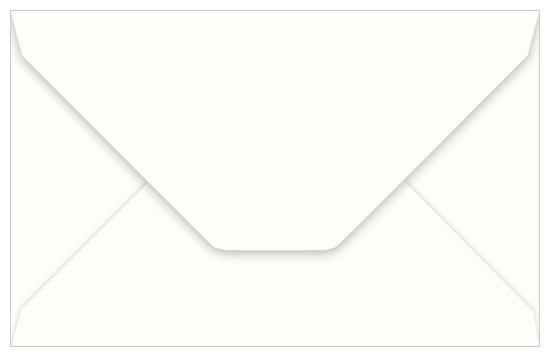 A9 Wedding White Smooth Invitation Envelopes (50 Pack)