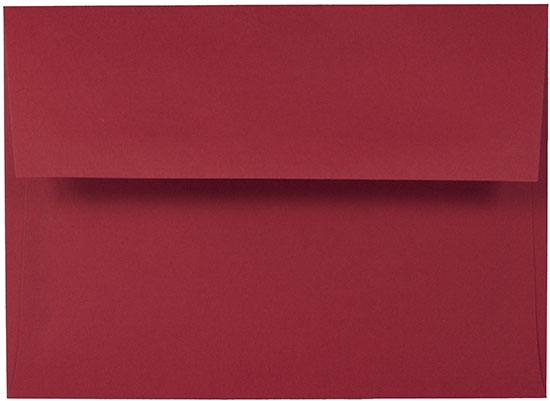 Red A7 Envelopes - 5 x 7 Invitations, Wedding (50 Pack)