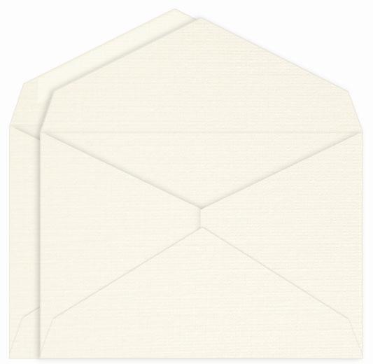 Double Linen Envelopes Unlined LCI Natural White