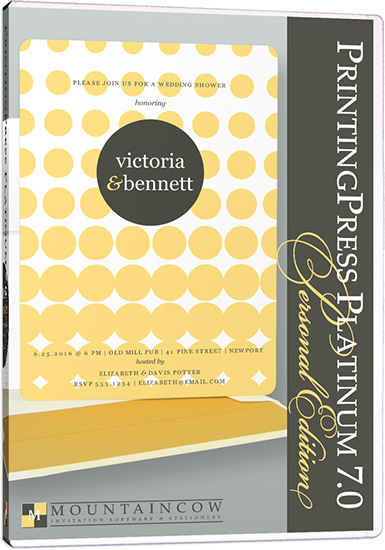 Wedding Invitation Software - PrintingPress Platinum 6.0 (1)