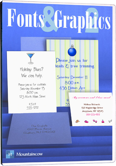 Wedding Invitation Software - Fonts & Graphics Collection 2 (1)