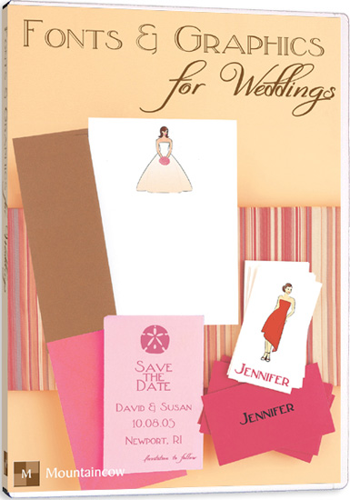 Wedding Invitation Software - Fonts & Graphics for Weddings (1)