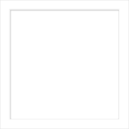 6 1/4 Square Emboss Wedding Invitation - Radiant White (50 Pack)