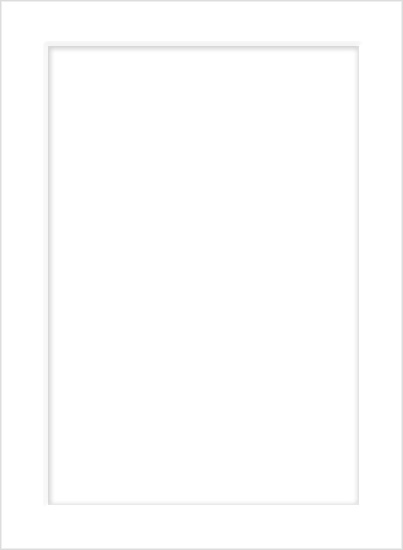Emboss Wedding Invitation Card - Radiant White (50 Pack)