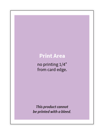 Printing with bleed is not available