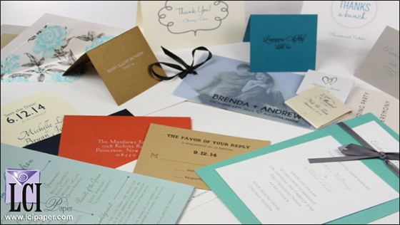 LCI's Invitation Supplies
