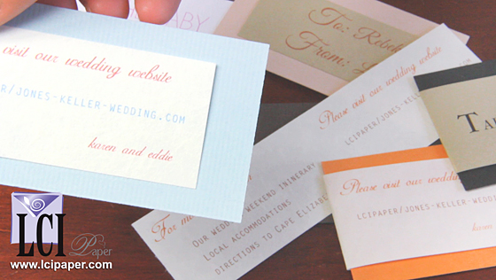 Mini Cards - Favor Tags To Business Cards