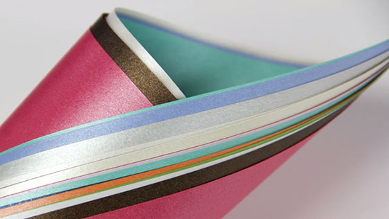 What is the Difference Between Metallic, Pearlescent, and Shimmer Paper?