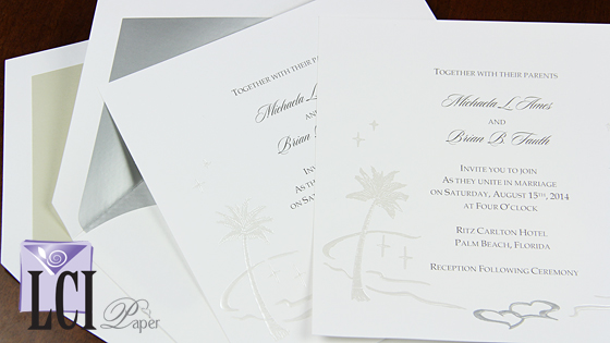 Video Description: Palm Tree Invitation