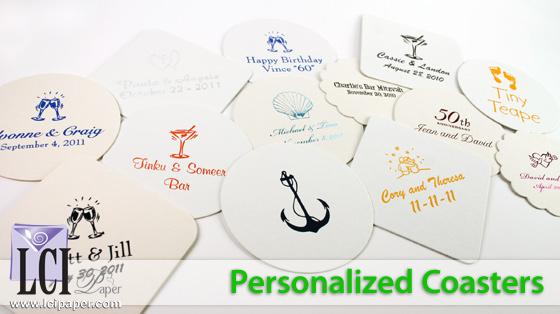 Video Description: Personalized Coasters
